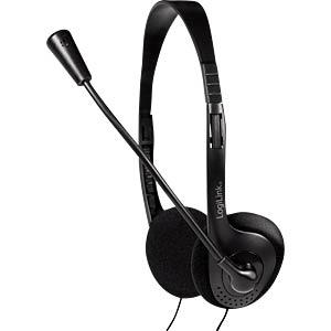 Headset, Klinke, Stereo LOGILINK HS0052