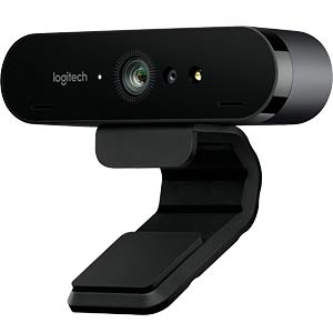 Webcam Logitech BRIO, 4K Ultra HD, 5-fach Zoom LOGITECH 960-001106