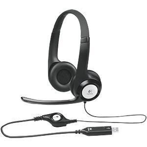 Headset, USB, Stereo, H390 LOGITECH 981-000406