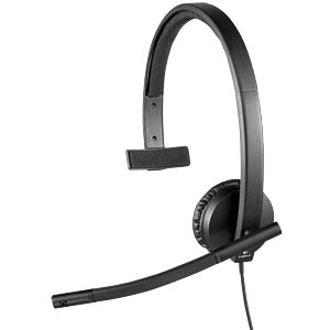 Headset, USB, Mono, H570E LOGITECH 981-000571