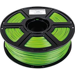 PMMA-1007-005 - ABS-Filament - Budget - Grün - 1,75 mm - 1000 g