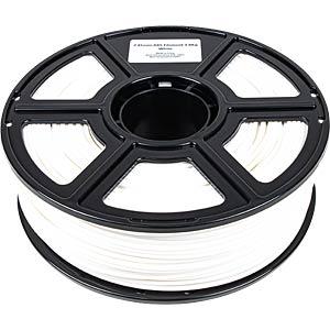 PMMA-1007-002 - ABS-Filament - Budget - Weiß - 1,75 mm - 1000 g