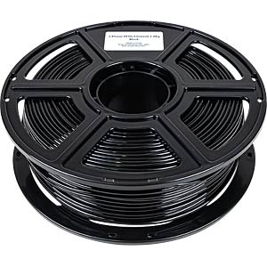 PMMA-1008-007 - PETG-Filament - Budget - Schwarz - 2,85 mm - 1000 g