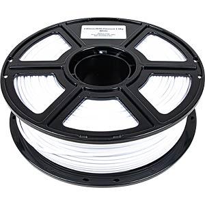 PMMA-1008-008 - PETG-Filament - Budget - Weiß - 2,85 mm - 1000 g