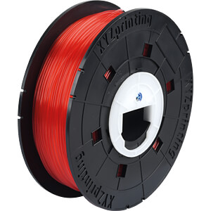 PLA Filament - klar/rot - 600 g - da Vinci Junior XYZPRINTING RFPLCXEU02A