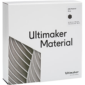 UM³ ABS - M2560 Gray - 750 g ULTIMAKER