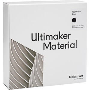 ABS Filament - M2560 schwarz - 750 g ULTIMAKER