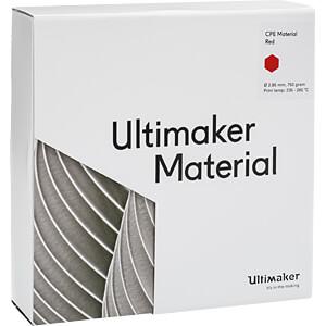 UM³ CPE - M0188 rot - 750 g ULTIMAKER