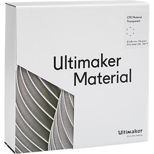 UM³ CPE - M0188 transparent - 750 g ULTIMAKER