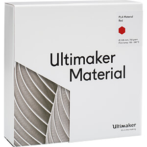 PLA Filament - M0751 rot - 750 g ULTIMAKER