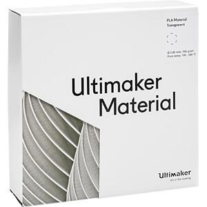 PLA Filament - M0751 transparent - 750 g ULTIMAKER