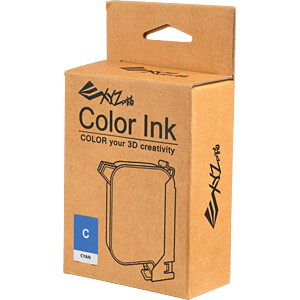 3D Druck, Tinte, Cyan, da Vinci Color XYZPRINTING R1NKXXY103C