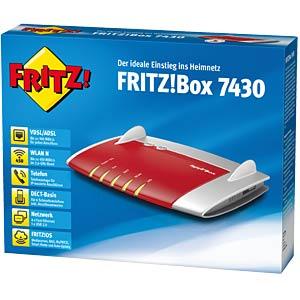 AVM FRITZ!Box 7430 W-Router - ADSL-/VDSL AVM 20002733