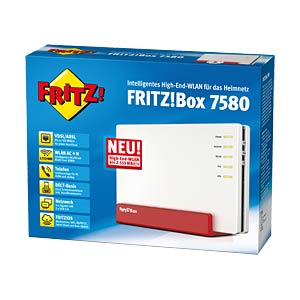 AVM FRITZ!Box 7580 with VDSL/ADSL2+ modem AVM 20002761