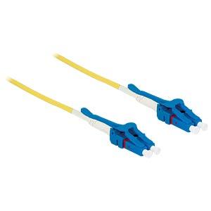 Kabel LWL LC/LC Uniboot OS2 09/125µ  1m DELOCK 85083