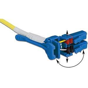 Kabel LWL LC/LC Uniboot OS2 09/125µ 10m DELOCK 85087