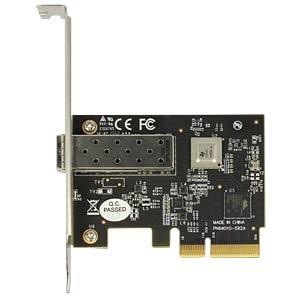 Netzwerkkarte, PCI Express x4, 10 Gigabit Ethernet, 1x SFP DELOCK 89475