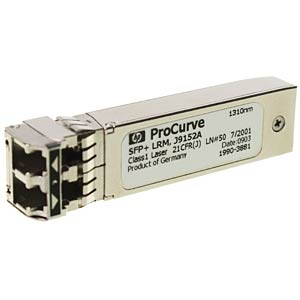 HP SFP+-Transceiver-Modul - 10GBase-LR - LC/UPC Single-Modus HEWLETT PACKARD ENTERPRISE J9151A