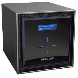 NAS-Server Leergehäuse NETGEAR RN42400-100NES