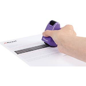 Rollstempel, ID Guard, perfect purple REXEL 2114007