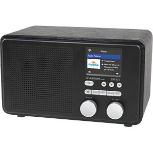 Internet Radio, schwarz ALBRECHT 27425