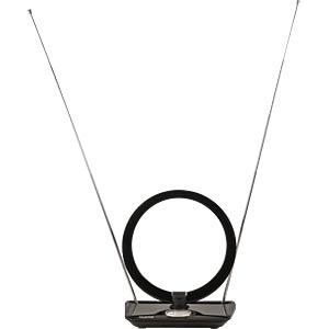 DVB-T2 Innenantenne mit LTE Filter, schwarz TELESTAR 5102226