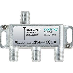 SAT-Abzweiger, 2-fach, 24 dB AXING BAB 2-24P
