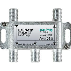 SAT-Abzweiger, 3-fach, 12 dB AXING BAB 3-12P