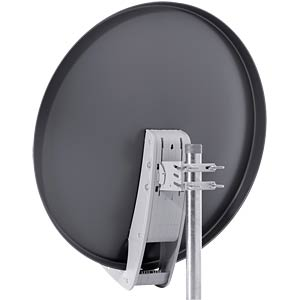Satellite dish, 85 cm, grey AXING SAA08501