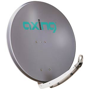 Satellite dish, 85 cm, charcoal AXING SAA08502