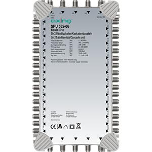 Multischalter, 5 in 32, Kaskadebaustein, basic-line AXING SPU 532-06