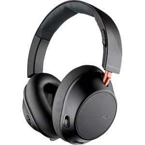 Headset, dual mode ANC, graphite black PLANTRONICS 211820-99