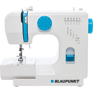 Free arm sewing machine, 11 stitch programs BLAUPUNKT 151898