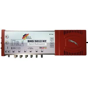 5-in-12 multi-switch with power supply BAUCKHAGE BMS 5012 NT