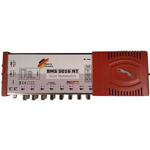 5-in-16 multi-switch with power supply BAUCKHAGE BMS 5016 NT