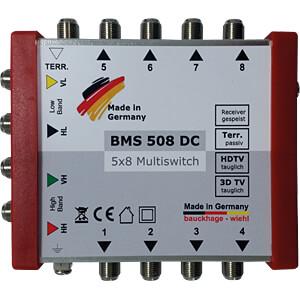 Multischalter, 5 / 8, (ohne Netzteil) BAUCKHAGE BMS 508 DC