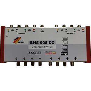 Multischalter, 9 / 8 (Receiver gespeist) BAUCKHAGE BMS 908 DC