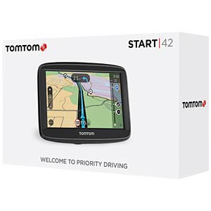 10.92-cm/4.3 sat nav, 45 countries, end customer hotline: 069 6 TOMTOM 1AA4.002.01