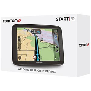 15.24-cm/6.0 sat nav, 45 countries, end customer hotline: 069 6 TOMTOM 1AA6.002.01