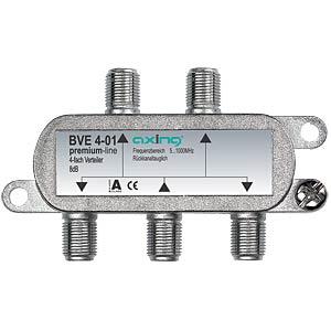 Axing 4-fach Verteiler premium-line AXING BVE00401