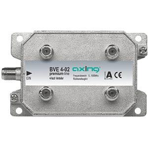 Axing 4-fach Verteiler / Bauform 02 AXING BVE00402