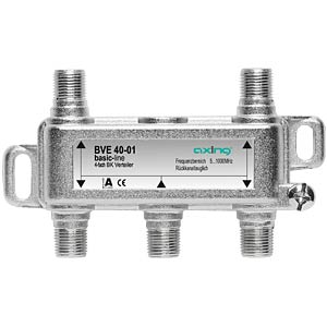 Axing 4-fach Verteiler basic-line AXING BVE04001