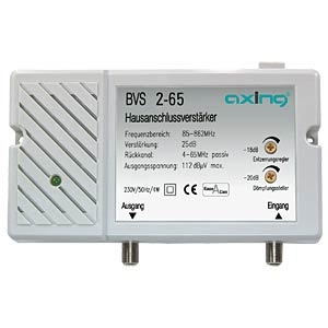 Axing broadband amplifier, 25 dB AXING BVS00265