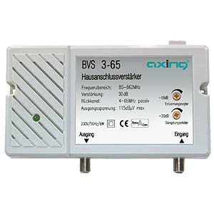 Axing broadband amplifier, 30 dB AXING BVS00365