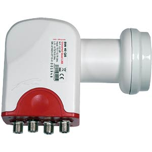 Universal Quad-Switch LNB 0,2dB / 40mm Feed BAUCKHAGE L73