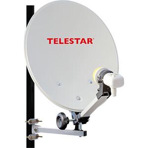 Receiver, SAT, Camping Anlage Set, HDTV, FTA TELESTAR 5103326