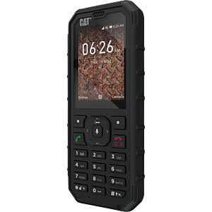 Outdoor Mobiltelefon, wasserdicht CAT CB35-DAB-EUR-EN