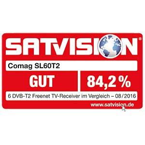 Receiver, DVB-T2, HDTV, PVR, freenet TV COMAG SL60T2