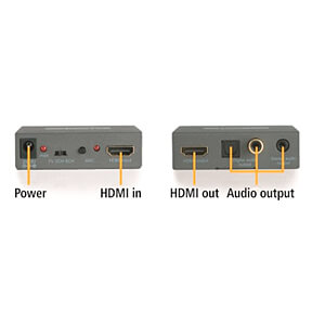 HDMI Konverter | 4K Audio Extractor | ARC MARMITEK 08276