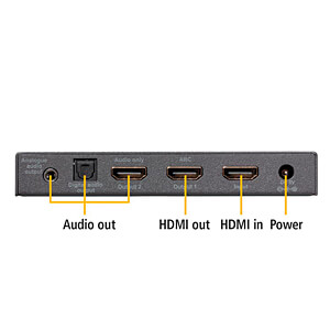 HDMI Konverter | 4K60 (4:4:4) Audio Extractor | ARC | HDMI MARMITEK 08334